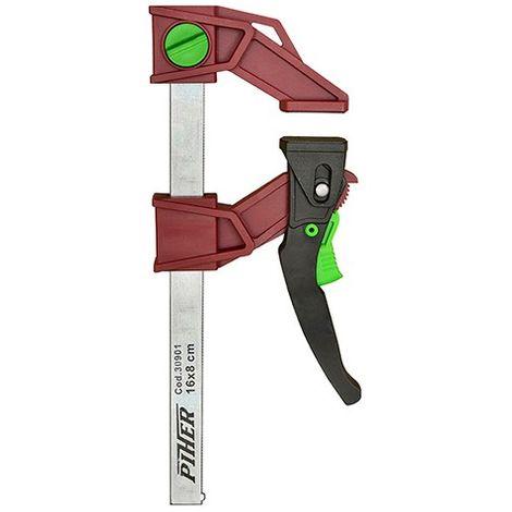 Presse légère à serrage rapide réversible 120 Kg saillie 8 cm x L. 15 cm - 30901 - Piher - -