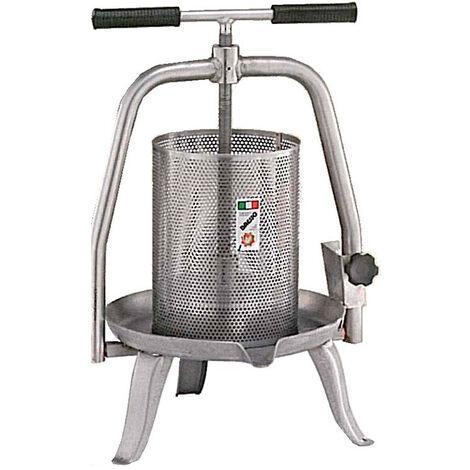 Presse manuelle acier inoxydable 11L