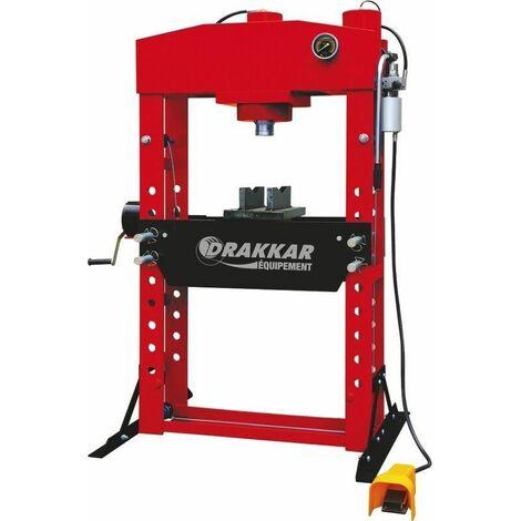 Presse manuelle et pneumatique 75T Drakkar