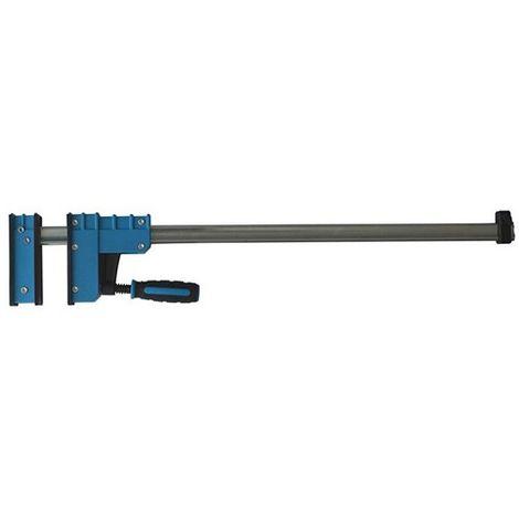 Presse parallèle à manche saillie 90 mm - section 30 x 8 mm - L. 400 mm - 091.308.040 - Leman