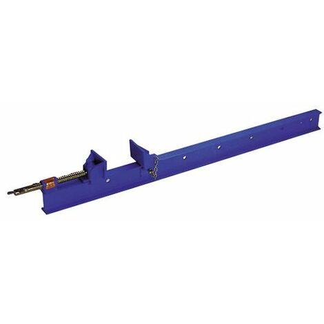 Presse parallèle à manche saillie 90 mm - section 30 x 8 mm - L. 800 mm - 091.308.080 - Leman