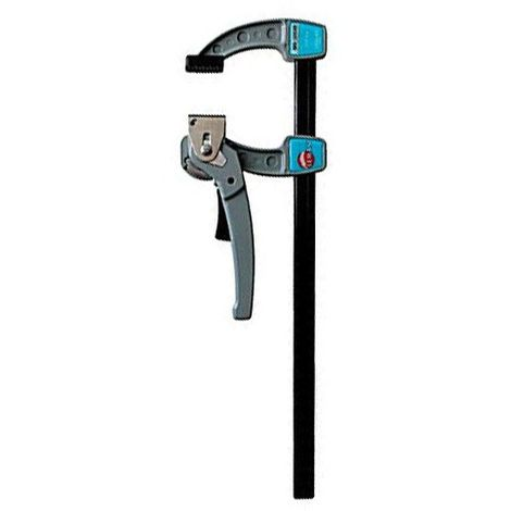 Presse serrage puissant saillie 80 mm - section 20 x 5 mm - L. 300 mm - 7300.205.030 - Leman