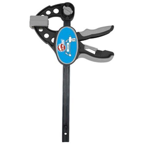 Presse serrage rapide une main 85 mm - section 20 x 5 mm - L. 150 mm - 7110.185.015 - Leman - -