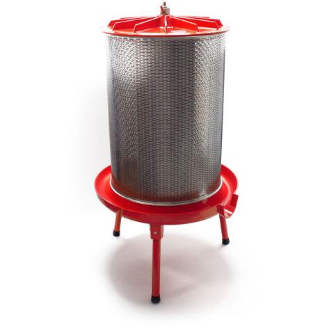 Pressoir hydraulique 40 litres 3 bars Acier inoxydable pour presser les fruits