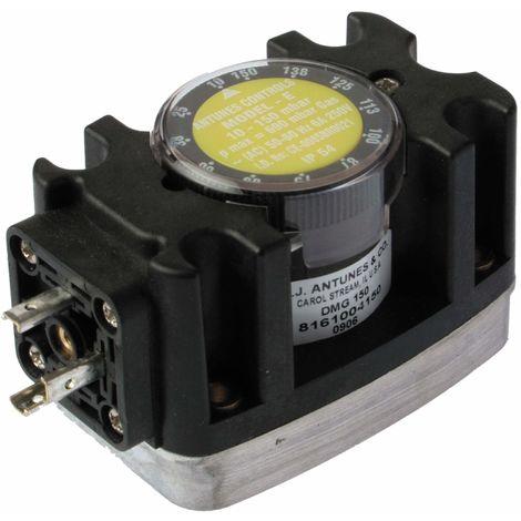 Pressostat air 0,7/3 mbars avec raccord taraudé dessous