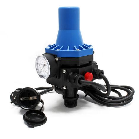 Pressostat avec câble SKD-3 230V Monophasé Réseau d'eau domestique Contrôleur de pression Puits
