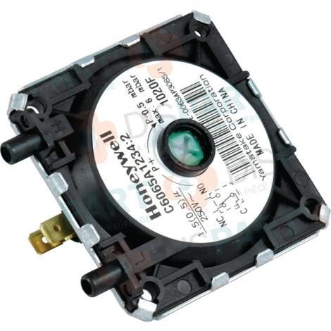 Pressostat fumée Pour SUNAGAZ GXE3000V-VI Réf. 159724 ATLANTIC PAC ET CHAUDIERE