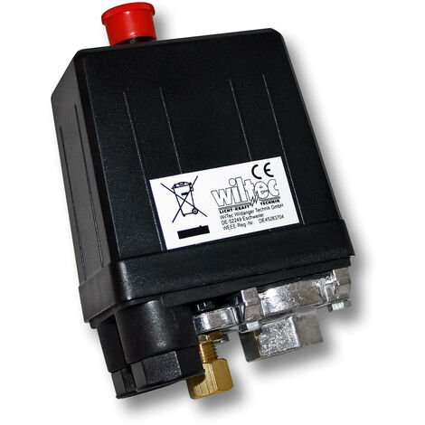 Pressostat SK-8 230V 1-phase pour compresseurs à air