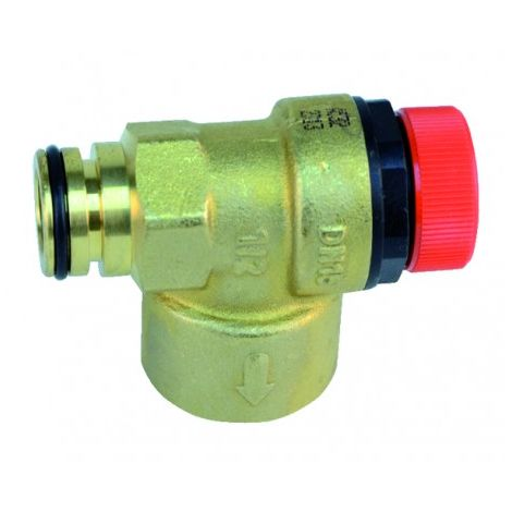 Pressure relief valve 3bar u122/124 gb202 - GEMINOX : 7100888