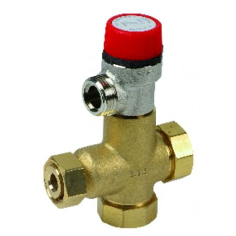 Pressure relief valve 7 bars - DIFF for Chaffoteaux : 61304749