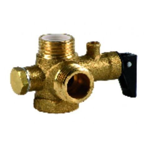 Pressure relief valve 7 bars - RIELLO : 4364612