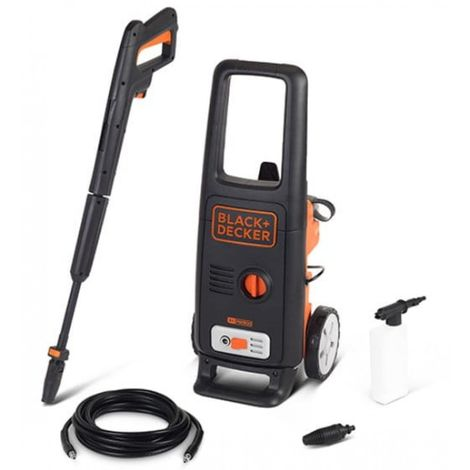 Pressure washer 125 bar 1.6 kw black decker
