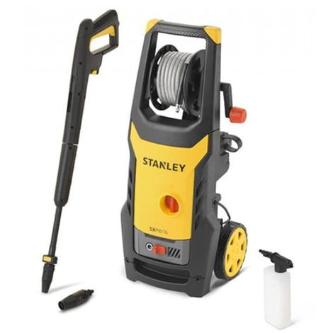 Pressure washer 125 bar 1.6 kw stanley washers