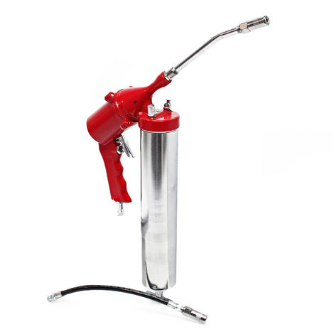 Pressurised Air Grease Gun with 400cc Cartridge with 4-6 Bar Pressure for Precise Results