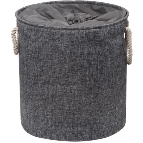 Presto Grey Laundry Hamper