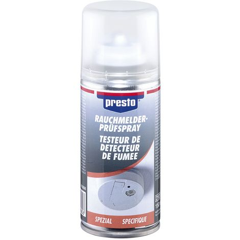 PRESTO Rauchmelder-Prüfspray 150ml DE