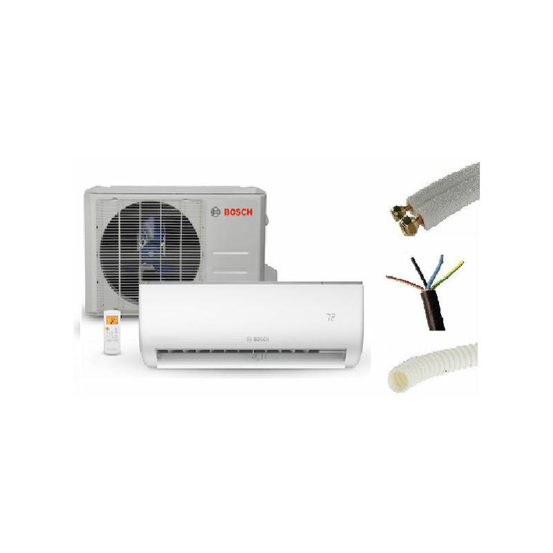 Pret A Poser Climatisation Murale Bosch 3500w Inverter Kit De Pose 3 Metres 45 M2 Max