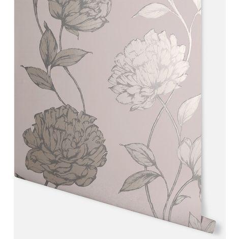 Pretty Floral Blush Wallpaper - Arthouse - 688000