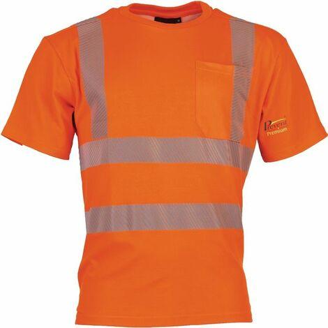 PREVENT TRENDLINE Warnschutz-T-Shirt Prevent® Trendline Gr.XL leuchtorange PREVENT TRENDLINE
