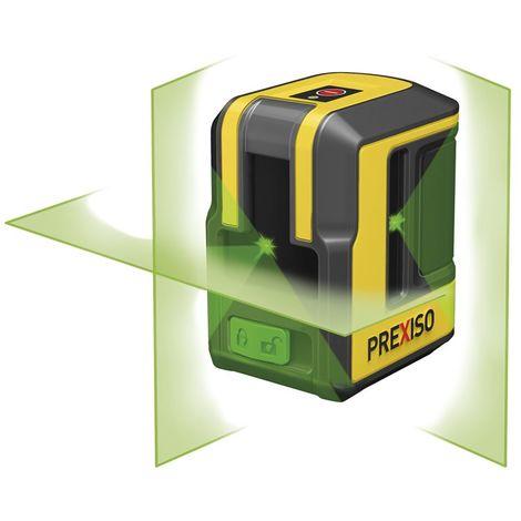 PREXISO 8250381 - Nivel láser de línea horizontal, vertical y techo verde PLC90DG