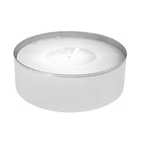 Price\'s Candles chauffe-plat Boîte 12maxilights, cire, blanc, 18x 12x 4cm