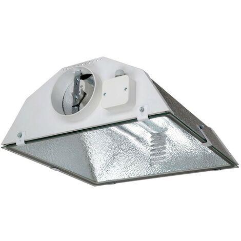 Prima Klima - Réflecteur Spudnik 150mm aircooled , vitré ventilé , ,douille E40, pour hps ou mh 150 à 1000w