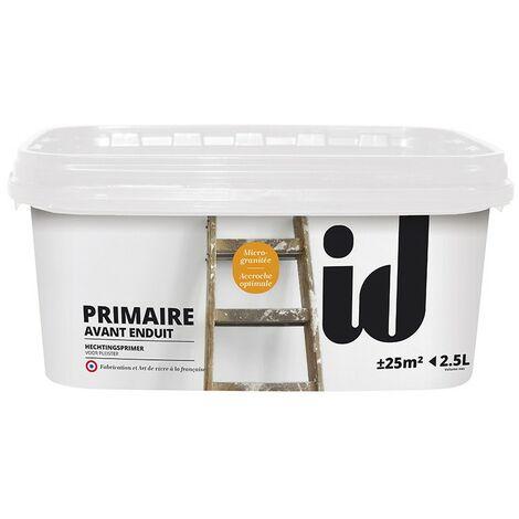 Primaire accrochage enduit décoratif 2,5L - ID Paris - blanc