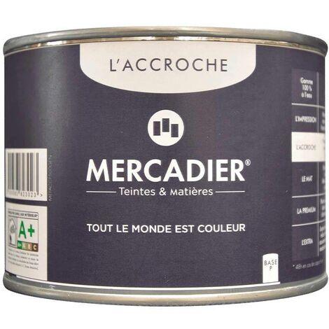 Primaire avant Peinture - Mercadier - L'Accroche - BLANC - 500 ml