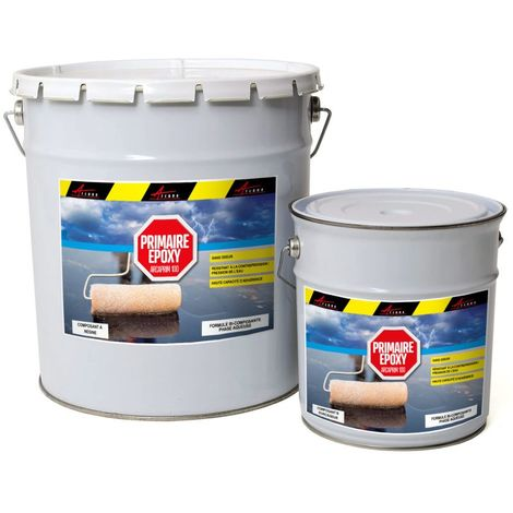 Primaire epoxy piscine sol et mur HAUTE RESISTANCE