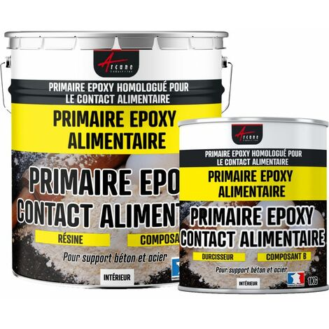Primaire Epoxy pour contact Alimentaire - PRIMAIRE EPOXY ALIMENTAIRE