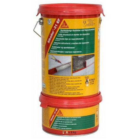 Primaire epoxy Sikadur 31 EF Kit de 1,2kg SIKA