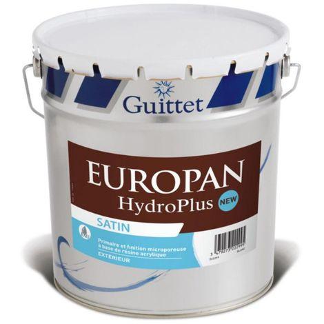 Primaire et Finition bois Europan HydroPlus 10L | Finition: Satinée - Couleur: Blanc