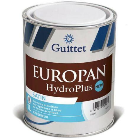 Primaire et Finition bois Europan HydroPlus 1L | Finition: Satinée - Couleur: Blanc