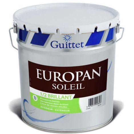 Primaire et Finition bois Europan Soleil Demi-Brillant 10L | Finition: Brillante - Couleur: Blanc