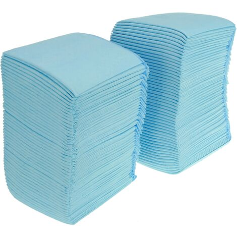 PrimeMatik - 100 absorbent soakers of 33 x 45 cm. Training towels for puppy dogs