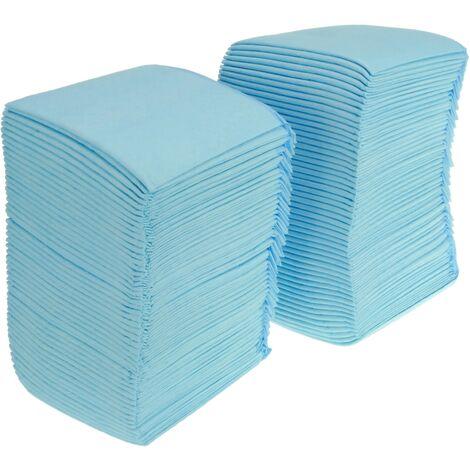 """main image of """"PrimeMatik - 100 empapadores super absorbentes de 33 x 45 cm. Toallas de entrenamiento para perros cachorros"""""""