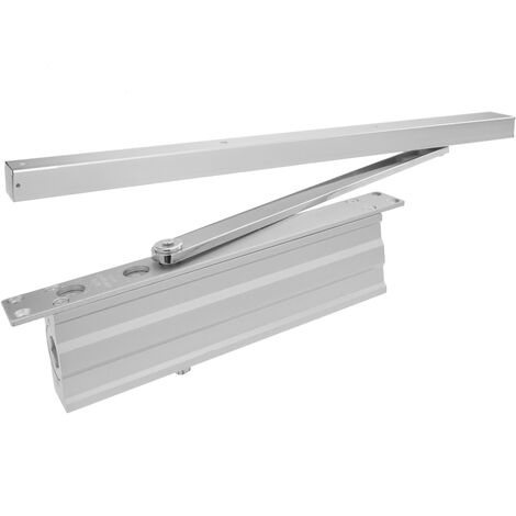 PrimeMatik - Automatic hydraulic door closer with sliding rail for 40-65 Kg