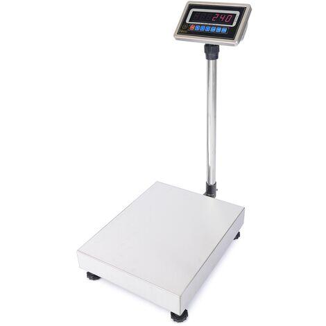 PrimeMatik - Balance industrielle avec la plate-forme 30x40cm 60kg acier inoxydable