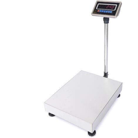 PrimeMatik - Balance industrielle avec la plate-forme 45x60cm 300kg acier inoxydable