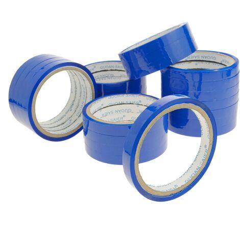 PrimeMatik - Blue adhesive tape for bag neck sealer tape dispenser 24-pack