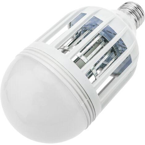 PrimeMatik - Bombilla matamoscas y mosquitos eléctrico luz mata insectos voladores y moscas 15 W E27 600 lm