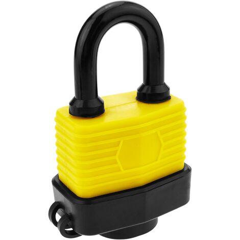 PrimeMatik - Cadenas de sécurité en acier avec protection extérieure IP44 40mm