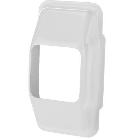 PrimeMatik - Carcasa metálica cubre polea en color blanco