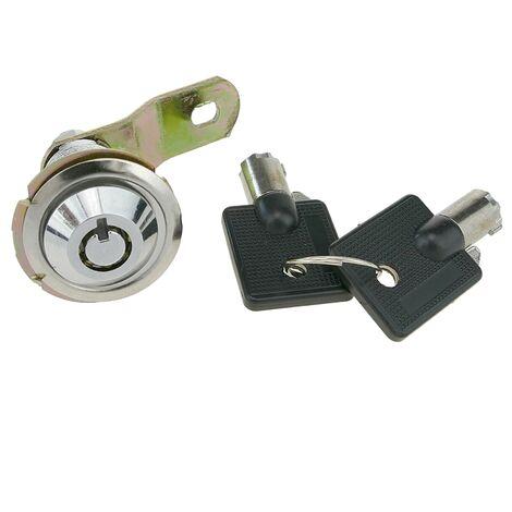 PrimeMatik - Cerradura de leva de 27mm x M18 con llave tubular