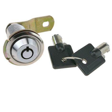 PrimeMatik - Cerradura de leva de 37mm x M18 con llave tubular