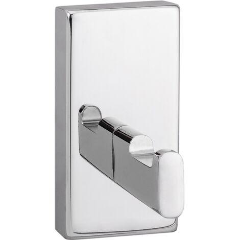 PrimeMatik - Chromed bathroom hook model Spool