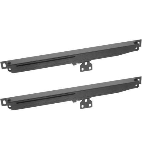 PrimeMatik - Cierrapuertas automático acero para puerta corredera