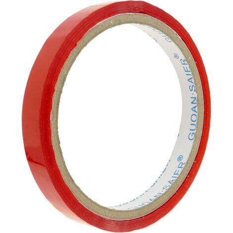 PrimeMatik - Cinta adhesiva roja para precintadora cierra bolsas de plástico