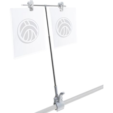 PrimeMatik - Clamp holder for two posters or advertisements