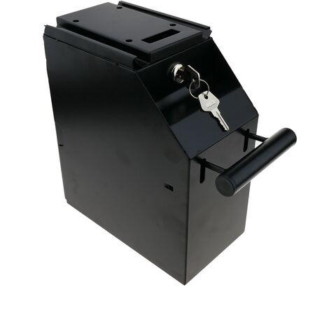 PrimeMatik - Coffre fort de rangement POS billets châssis acier